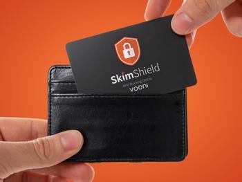 Vooni RFID-beskyttelse til Tegnebogen