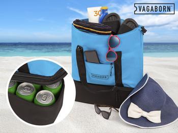 Vagaborn 2-i-1 Strandtaske med Kølerum