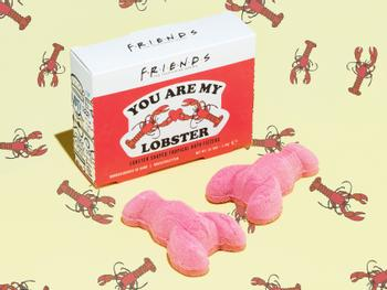 Friends You Are My Lobster Bathbombs 2 stk