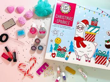 Chit Chat Christmas Sparkle Julekalender med Make-up