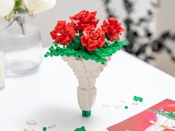 Spralla Blomsterbuket 3D-byggesæt
