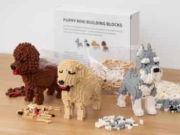 Hundehvalp Mini 3D-byggesæt